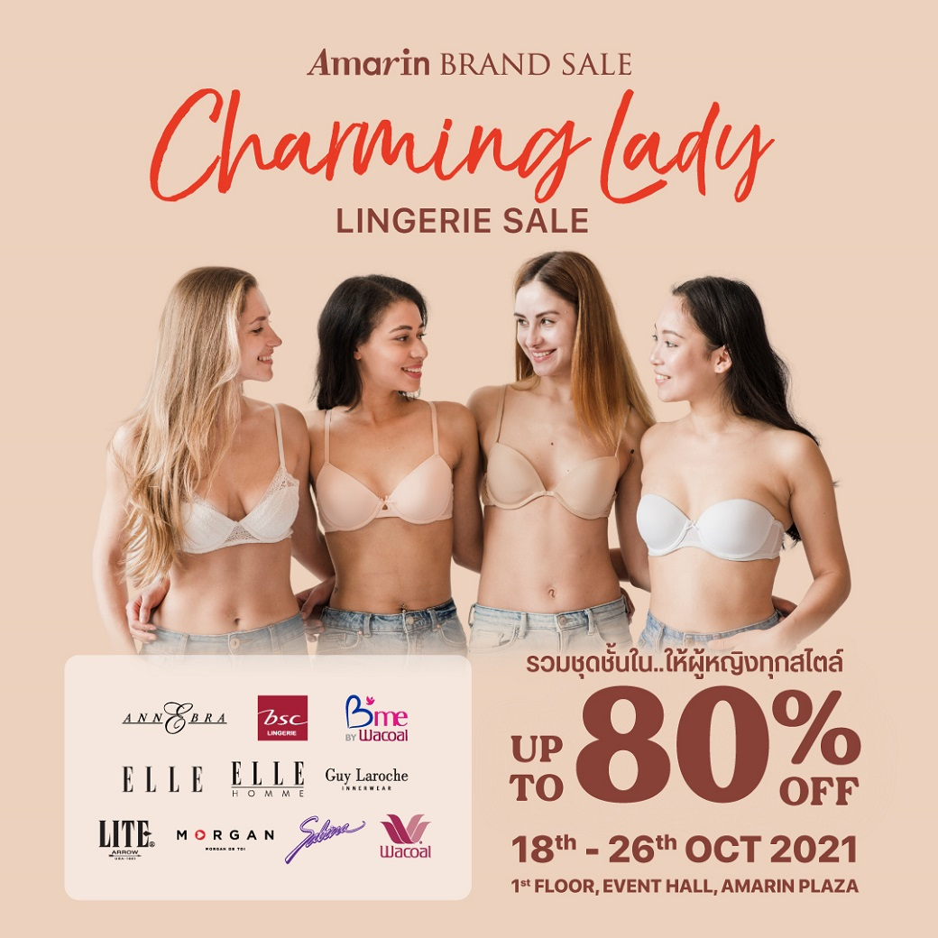 Charming Lady Lingerie Sale Up To 80%